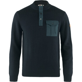 Fjällräven G-1000 Pocket Sweater Men dark navy